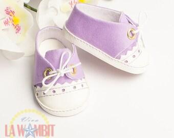 """Violet Sorbet Color Oxford Flats for Disney Animators 16"""" dolls Rockabilly"""