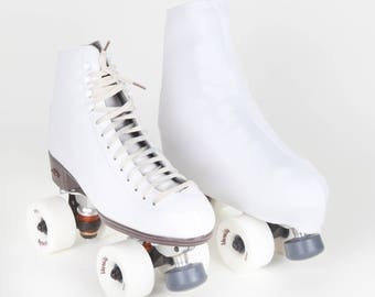 Skate Boot Cover White