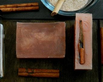 Gingersnap Soap - Vegan Soap, Handmade Soap, Homemade Soap, Cruelty Free Soap - Wedding Favor, Great Gift
