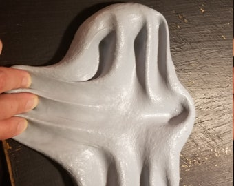 Gray Ghost Butter Slime