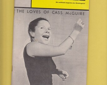 Colonial Theatre Boston Ruth Gordon The Loves of Cass MacGuire Playbill/program 1966