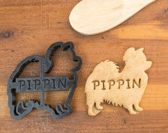 Papillon Cookie Cutter Custom Treat Personalized Pet