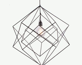 The Skeleton Pendant - 45cm Cubed