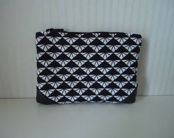 Wallet black and white