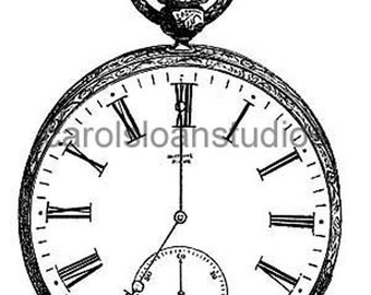 Thermofax Screen Pocketwatch