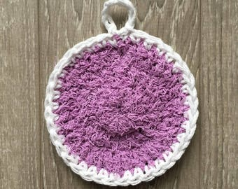 Exfoliating, washcloth, shower, powder puff, 100% scrubby, scrubby, wash cloth, spa accessories, palm scrubbies hand cotton Terry
