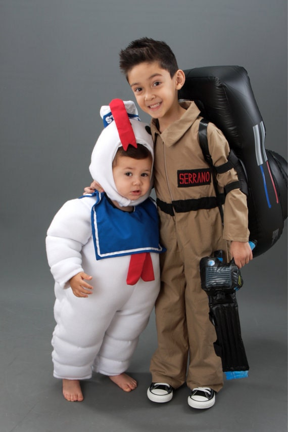 ?zoom  sc 1 st  Etsy & Ghostbuster Stay Puft Costume Marshmallow Man Halloween Custom