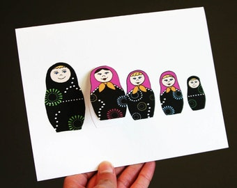 Nesting Doll Pregnancy Announcements