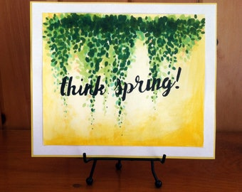 Think Spring! Watercolor