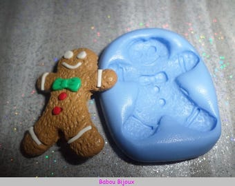 New and Rare! 3.5 cm gingerbread cookie mold