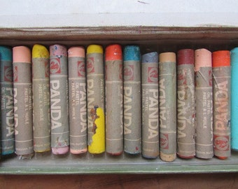 Talens Pastel Crayons Vintage Soft Pastels For Artists Oil Bases Crayons Like Cray Pas