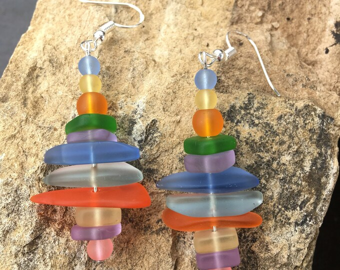Featured listing image: Sea Glass Earrings