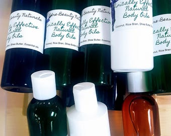 Clinically Effective 100% Natural Face & Body Oil Blend