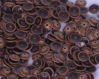 100 Sequins  Matte.......Brown Color / KBRS117