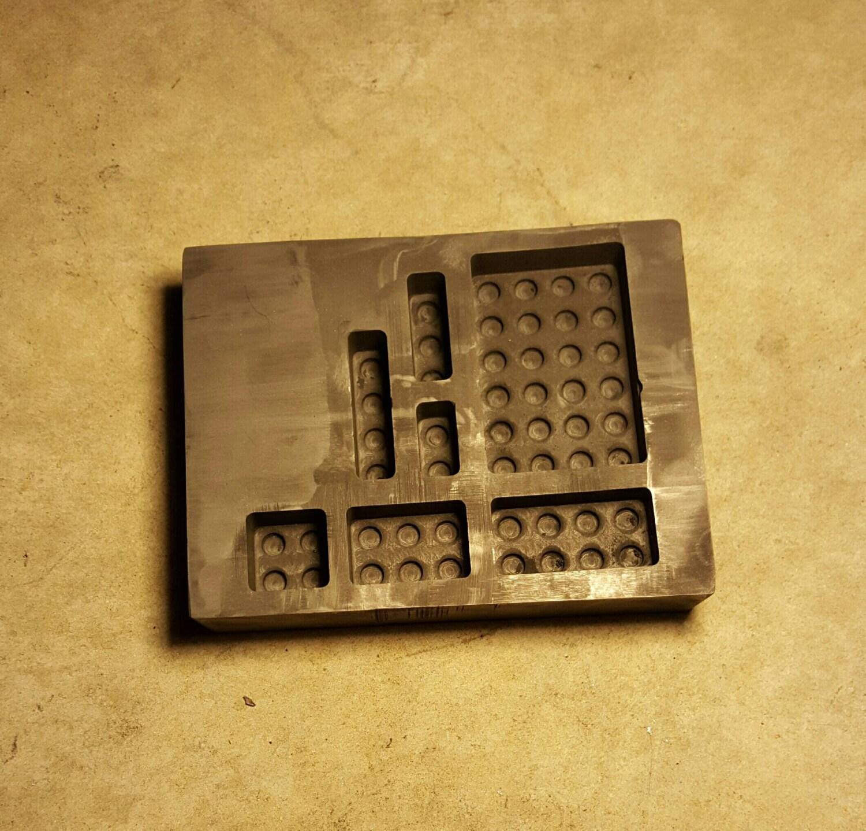 Graphite Mold: Lego Blocks
