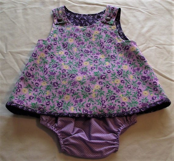 Infant Reversible Outfit Set, Size 3-6mo