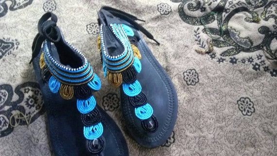 ON clothing sandals african kenyan sandals beaded sandal SALE sandal african masai african rwqpxARr