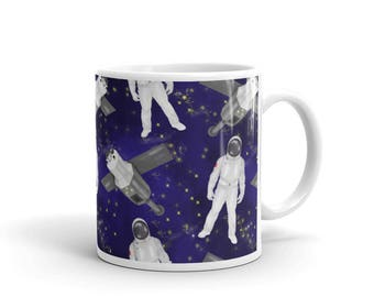 Astronaut Mug Space Universe Galaxy Coffee Mug Science Teacher Astronomer Astronomy Birthday Gift