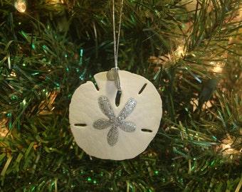 Coastal Christmas -Sand Dollar Ornament -Shell Ornament -Beach Ornaments -Seashell Ornaments -Sea Shell Christmas Ornaments -Beach Christmas