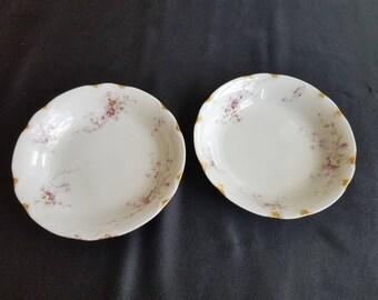 Maddock Pottery Porcelain Soup Bowls - Set of 2