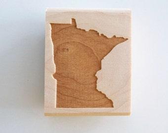 Minnesota State Rubber Stamp
