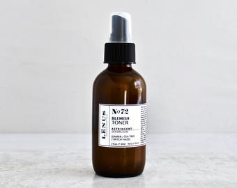 Nọ 72, BLEMISH TONER, Blemish Problems, Adult Acne, Acne Skin Toner, Antibacterial Toner, Face Mist, Face Spray, Problematic Skin