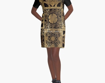 Hellraiser T-Shirt Dress, Lament Configuration Spread, 6 Sizes Available!