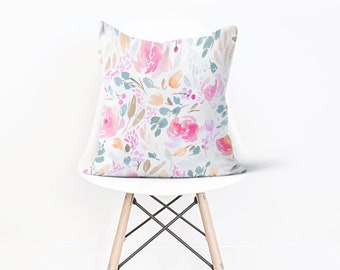 Floral Pillow Cover Spring Decor Miller Floral