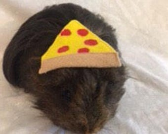 Guinea Pig Pizza Slice Hats