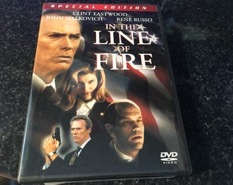 In The Line Of Fire DVD Movie clint eastwood