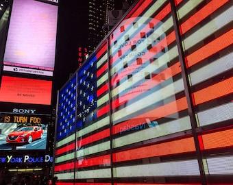 Times Square Flag