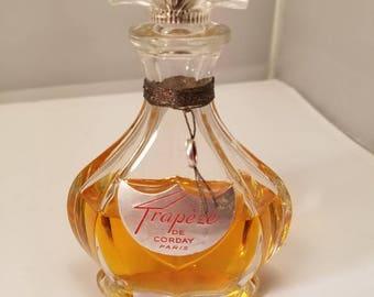 Vintage 1950's de Corday Trapeze Eau de Parfum 2.5 oz