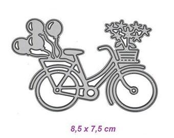 Cutting die, die cut bicycle dies