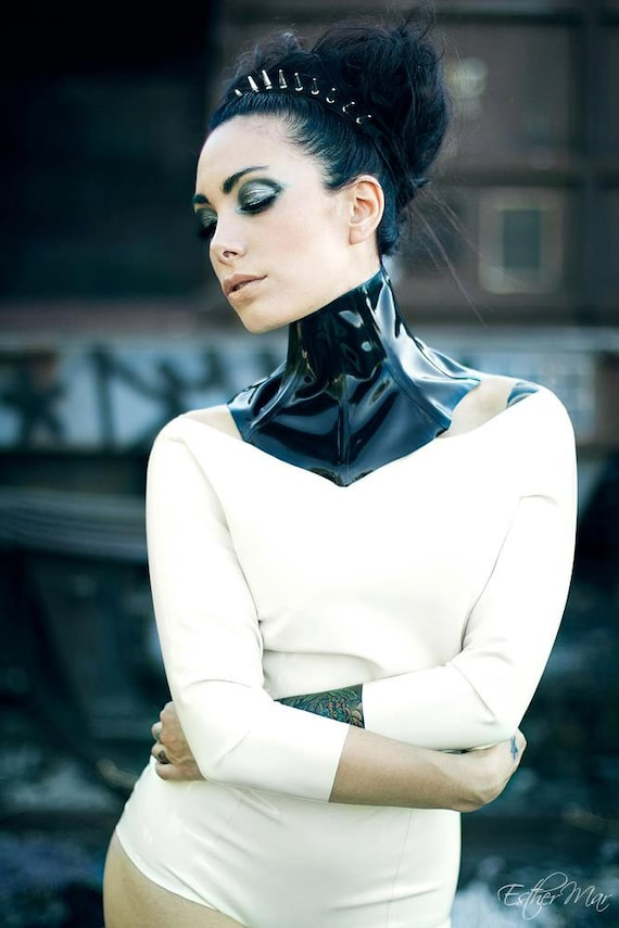 Latex Neck Corset