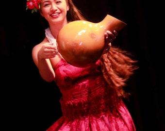 Authentic Hawaiian Ipu Gourd Drum