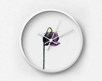 A Beautiful Demise I Photography Wall Clock