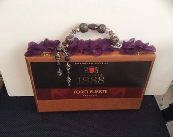 Toro Fuerte cigar box purse