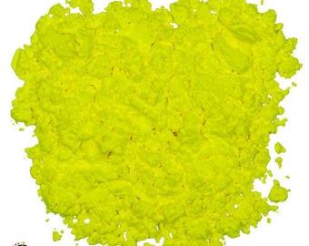 Yellow Fluorescent Powder - UV Reactive