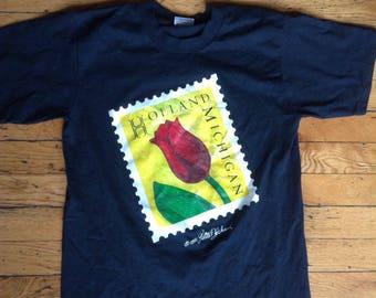 1992 Holland Michigan t shirt USA large