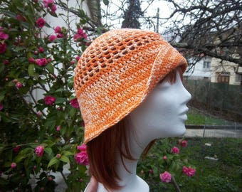Been #Collection (orange) crochet Hat