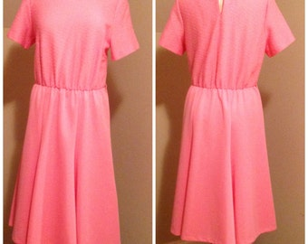 Pretty In Pink Vintage Dress