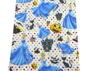 "Fabric printed theme ""Disney Princess Cinderella """
