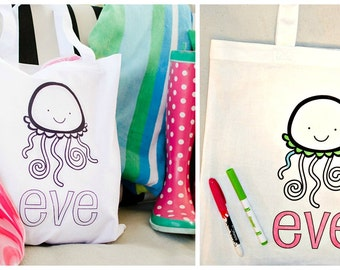 Custom Color-On Totes | 18 Designs!