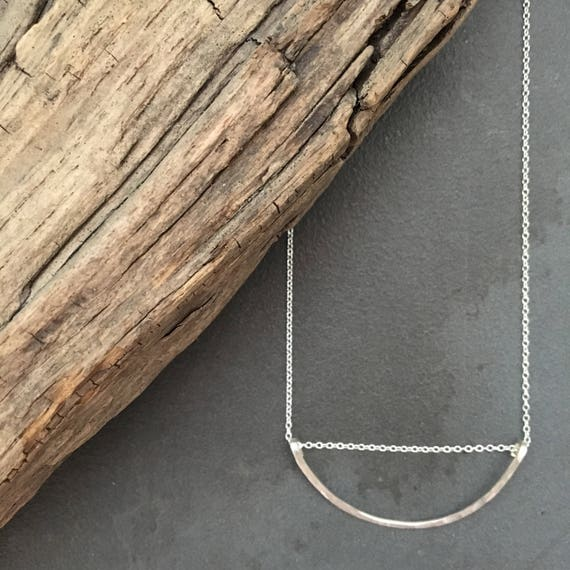 Small Crescent Necklace