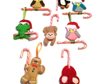 Candy Cane holder - assorted designs