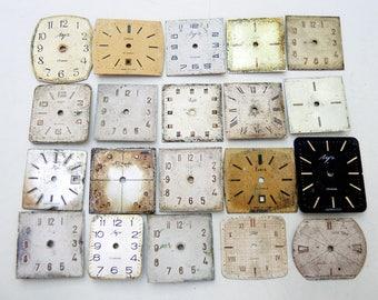 Vintage Watch Faces - set of 20 - c89