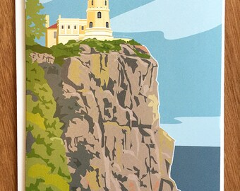 Split Rock Lighthouse, Minnesota, card