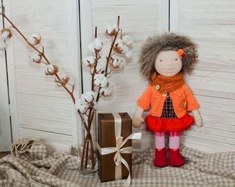 Custom Waldorf doll  Waldorf toy  Steiner doll  Gifts.