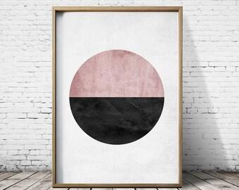 Minimalist Art Prints -  Minimalist Art - Minimalist Poster - Modern Art Prints - Geometric wall art
