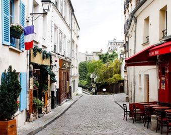 Montmartre, Paris, France, Travel Photography, Europe, Street, Home Decor, French, Fine Art Prints, Wall Art, Parisian